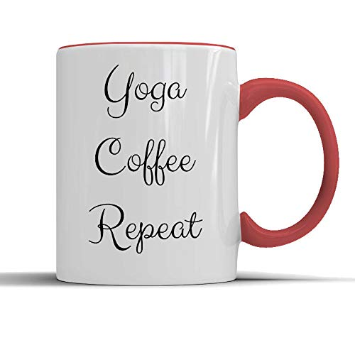 Divertida taza de yoga para regalar a los amantes de la yoga ...
