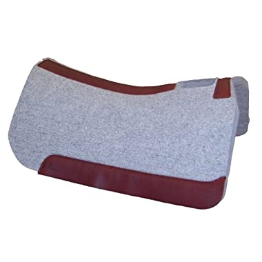 5 Star Full Skirt Saddle Pad (32 w X 32 l) (Natural, 3/4  Thick)