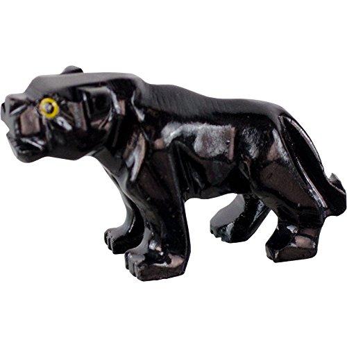 Spirit Animal Carving Panther Black Onyx