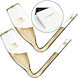 CHAMBONG – Classic Size, 2 Pcs Glass with Gold