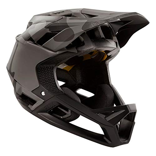 Fox Racing Proframe Helmet Black Camo, L