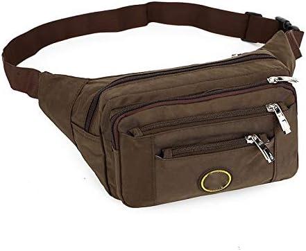 NKns Neue Taschen Multi-Funktions-Sammlung Brieftasche Business-Paket Gewaschenes Tuch Multi-Layer-Registrierkasse Koreanischen Freizeithüfttasche Flach