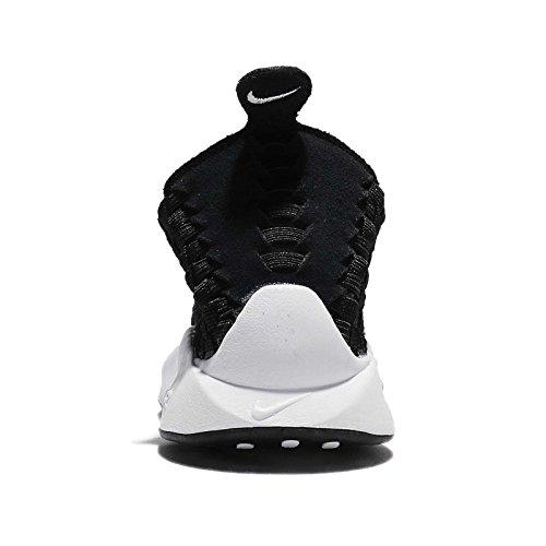 Nike Kvinnor Wmns Luft Vävt, Svart / Vit, 6 Oss
