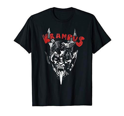 Gruss Vom Krampus Naughty Christmas Demon T shirt Gift -