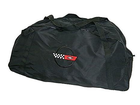 cc0d77835909 Image Unavailable. Image not available for. Color  Corvette C4 Duffle Bag  Black