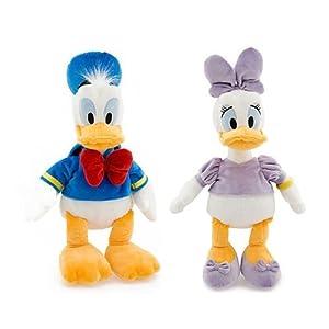 Walt Disney Classic Donald Duck & Daisy Duck 18″ Plush Set