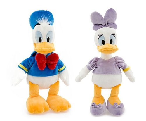 "Walt Disney Classic Donald Duck & Daisy Duck 18"" Plush for sale  Delivered anywhere in USA"