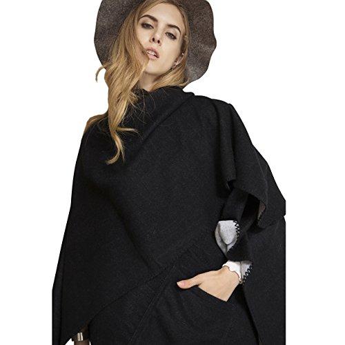 Solid color Fashion Scarf Chiffon Long Hijabs (Grey) - 7