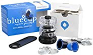 BLUECUP Starter Pack, Reusable Coffee Capsules, Refillable Pods compatible with Nespresso Machines (Original l