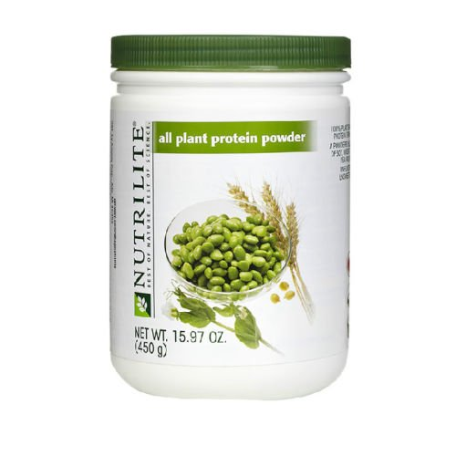 Nutrilite All Plant Protein Powder 450g 15.87 Oz Soy Amino Acid by amway
