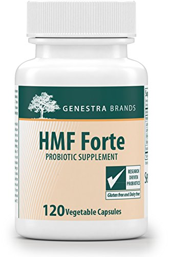 Genestra Brands - HMF Forte - Four Strains of Probiotics to Promote GI Health* - 120 Capsules by Genestra Brands