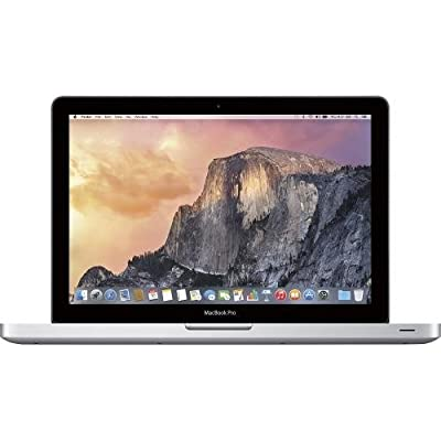Apple MacBook Pro 13.3-Inch Laptop i5 4GB 500GB MD101LL/A with Built-in DVD SuperDrive (Current Version)