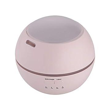 OME*QIUMEI Difusor del Aroma del Mini 110 * 120M M / 150Ml con 3 Películas De PVC Luz Nocturna De La Luz Ultrasónica: Amazon.es: Hogar