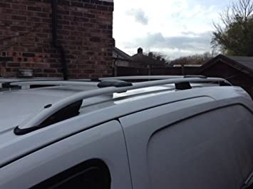 5567d8d34660af CITROEN BERLINGO VAN ALUMINIUM ROOF RAIL BARS RACKS SET AND CROSS BARS 2008  ONWARDS
