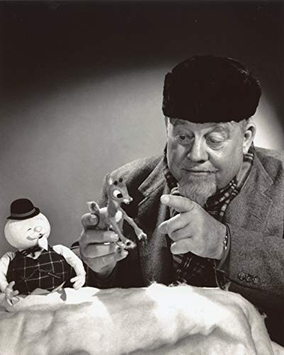 (Burl Ives Rudolph the Red Nose Reindeer 8x10 Photo #X1317)