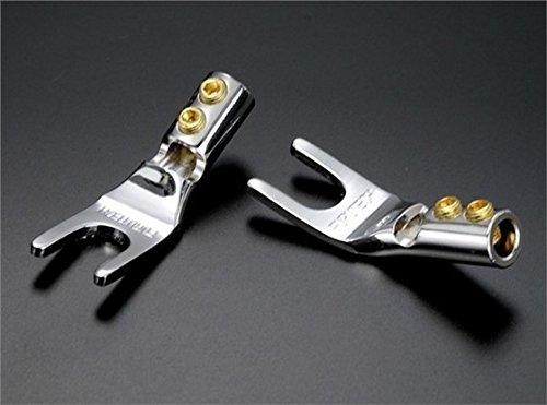 FURUTECH FP-201 (R) Rhodium Spade Connectors