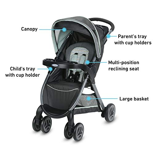 Graco FastAction Fold Travel System image 4