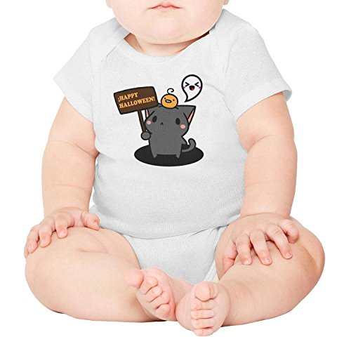 Yndhasd Cute Baby boy Girl Onesies Happy Halloween