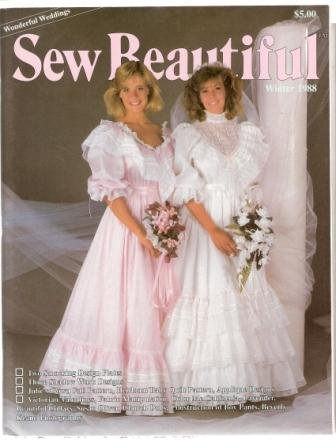Sew Beautiful Winter 1988 Magazine Wonderful Weddings Volume 1 Number 3