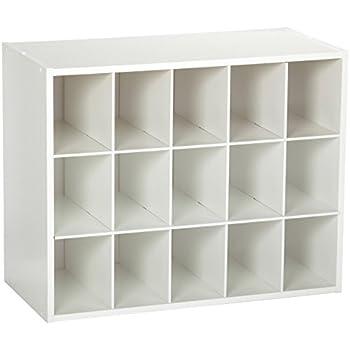 ClosetMaid 8983 Stackable 15 Unit Organizer, White