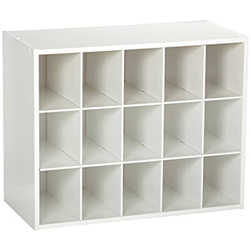 Attrayant ClosetMaid 8983 Stackable 15 Unit Organizer, White