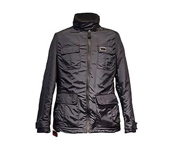 Chaqueta Negra Field Jacket hombre Brembo Airbag Talla M ...