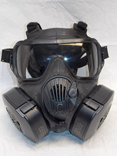 Avon Full Face Respirator M50 Gas Mask CBRN NBC Protection Small ()