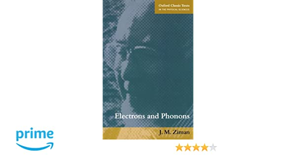 Pdf ziman electrons phonons and