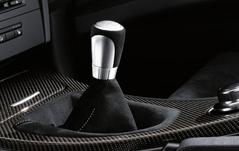 BMW Performance E90 E91 E92 E93 3 Series 2006+ 6 Speed Alcantara Shift Knob ()
