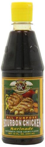 Breezy Spring Bourbon Chicken Marinade Sauce, 15.-Ounce Bottles (Pack of ()