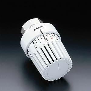 Oventrop Uni LH cabezal termostático sin puesta a cero, 7–28°C Número de Referencia 1011464