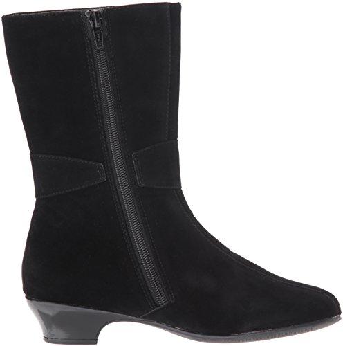 Rachel Velvet Black Boot Girls' Juliet Shoes Fashion Black 0Fq0rawT