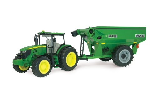 (Ertl Big Farm 6210R Tractor With Grain Cart)