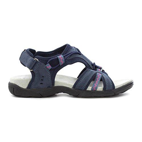 Pute Gange Kvinner Marineblå Sporty Sandal Blå
