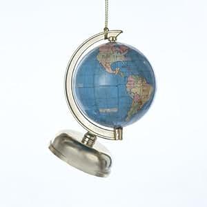 "Amazon.com: 3.75"" All Around the World Globe Christmas ..."