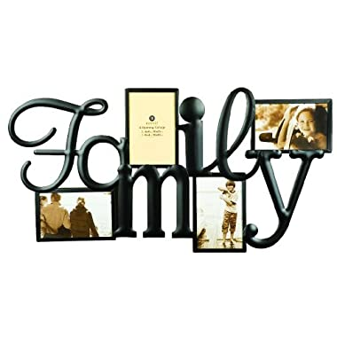 Burnes of Boston 542540 Family 4 Opening Wall Collage