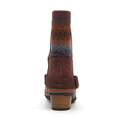 Sorel - Botas para mujer rojo - Madder Brown