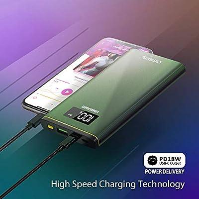 Amazon.com: Power Bank Cargador portátil Omars 10000mAh USB ...