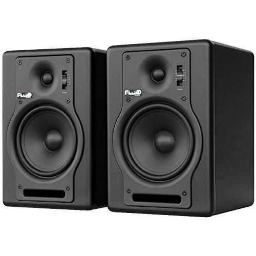 フルイドオーディオ ブックシェルフ型モニタースピーカー(ブラック)【ペア】FLUID AUDIO Fader Series F5 B071Z2WSB8