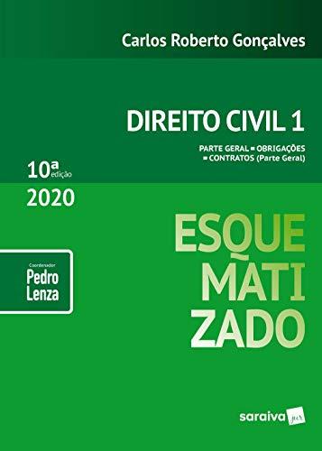 Direito Civil Esquematizado - Vol.1 - 10ª Edição 2020