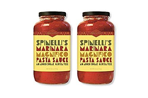 SPINELLIS SAUCE CO Classic Marinara Sauce, 26 OZ (Best Jar Spaghetti Sauce For Lasagna)