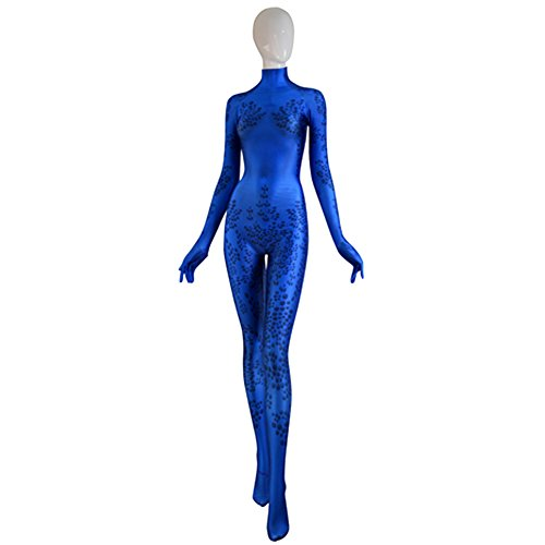 ourworth X-Men Mystique 3D Cosplay Costume