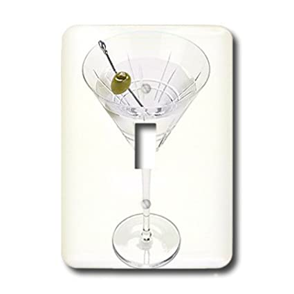 3dRose lsp/_4549/_1 Martini Single Toggle Switch