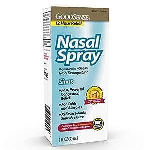 Amazon Com Goodsense Oxymetazoline Hcl 0 05 Nasal