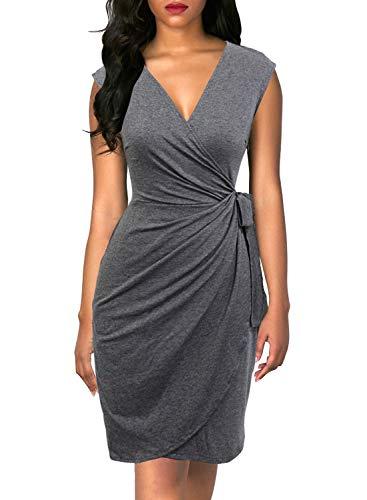 Lightweight Wrap Dress - 5