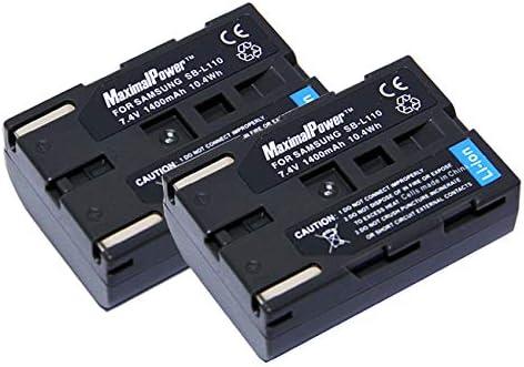 Li-ion batería sb-l220 para Samsung vp-d590i d60 d6050i d65