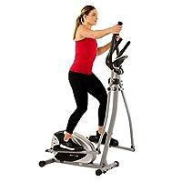 Entrenador de máquinas elípticas magnéticas por Sunny Health & Fitness - SF-E905