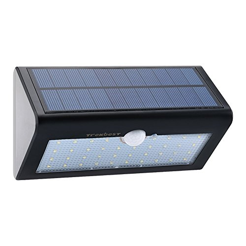 Trekbest Solar Motion Light - 38 LED Waterproof Wireless Solar Powered Wall Light with 4 Intelligent Modes,...