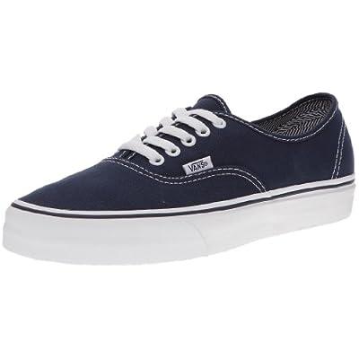 Vans Adult Authentic, Dress Blues/True White , Men's 8.5