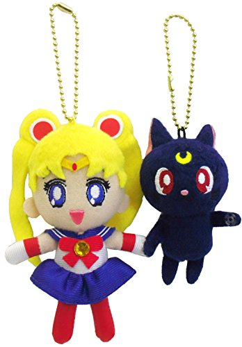 Sailor Moon - Tsunagete Mascot Set: Sailor Moon & Luna